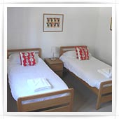 Twin beds in bedroom 3